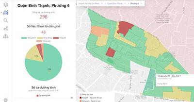 Từ 25/10, TPHCM cập nhật cấp độ dịch các địa phương qua cổng thông tin COVID-19
