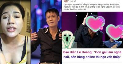Trang Khàn phản ứng trước phát ngôn 'con gái làm nail, bán hàng online có học vấn thấp' của Lê Hoàng