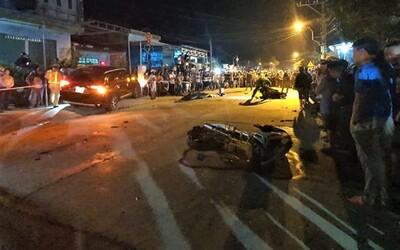 Tạm giữ hình sự tài xế ô tô gây tai nạn liên hoàn khiến 7 người thương vong sau cuộc nhậu