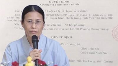 Vụ thỉnh vong, gọi hồn ở chùa Ba Vàng: Tòa án bác toàn bộ đơn kiện của bà Phạm Thị Yến