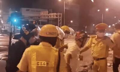 Thông tin mới vụ cán bộ quân sự huyện đấm CSGT chảy máu miệng