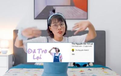 Vừa bị xử phạt, kênh YouTube Thơ Nguyễn bất ngờ thông báo hoạt động trở lại