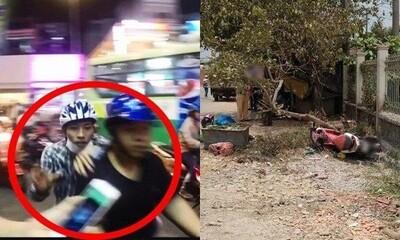 Bị cô gái 20 tuổi truy đuổi, tên cướp tông vào gốc cây ngã gãy chân