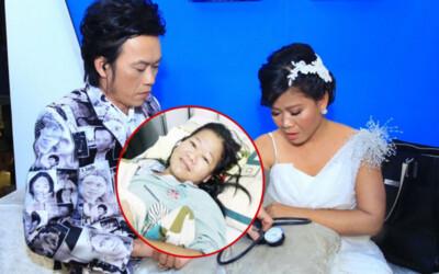 Con gái nuôi Hoài Linh lâm trọng bệnh, bật khóc giữa đường vì không nhớ mình là ai