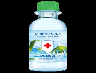 Đình chỉ lưu hành, thu hồi nước súc miệng Dr. Muối và kem dưỡng da Hoa hồng