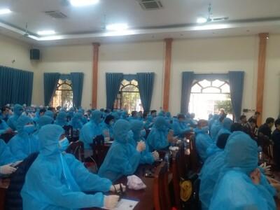 161 'bác sỹ tình nguyện' hỗ trợ Vĩnh Phúc diệt 'giặc' Covid-19
