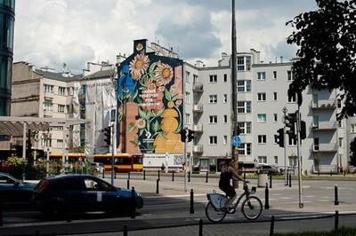 Kỳ lạ bức tranh tường lọc không khí ô nhiễm