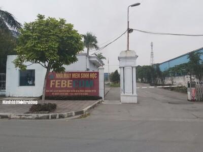 Thái Bình: Xác định Công ty Febecom hoạt động 'chui' nhưng Sở TN&MT xử lý kiểu... nửa vời