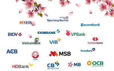 Ra Tết có tiền gửi tiết kiệm ngân hàng nào lợi nhất?