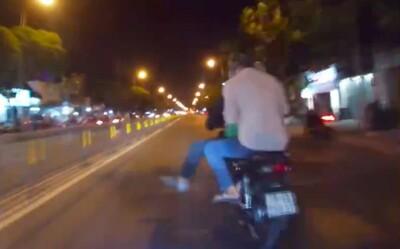 Nghẹt thở xem clip trinh sát hình sự truy bắt 2 kẻ trộm như phim hành động ở TP.HCM