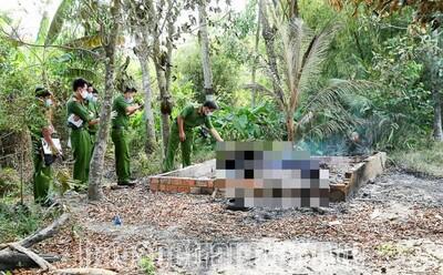 2 người đàn ông tử vong bất thường: Một người nằm tại chòi lá, một người bị thiêu cháy ở gần chuồng bò