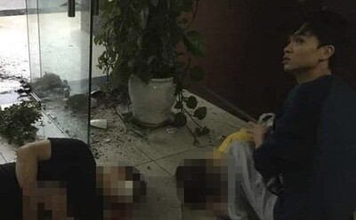 HY HỮU: Sập văn phòng cơi nới, nữ giám đốc cùng nam nhân viên rơi từ tầng 2 xuống đất