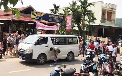 Án mạng kinh hoàng ở Lương Sơn Quán: Nhân viên đến thấy cửa đóng, máu chảy từ trong ra nên xông vào phá cửa
