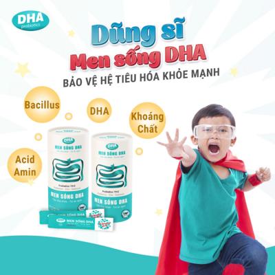 Ưu điểm vượt trội của Men sống DHA thế hệ mới ứng dụng công nghệ vi sinh Hàn Quốc
