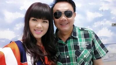 Kiểu tóc cộp mác Hoa hậu của vợ Chí Tài, hơn 60 tuổi mà vẫn tươi trẻ