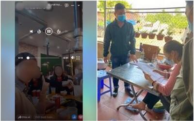 Phải cách ly tại nhà, người phụ nữ trốn đi ăn lẩu với bạn rồi livestreams trên Facebook