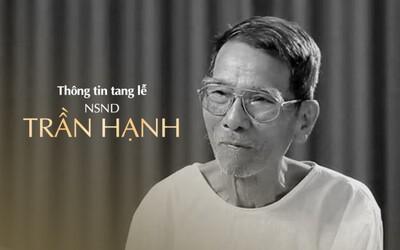 Thông tin chính thức về tang lễ NSND Trần Hạnh
