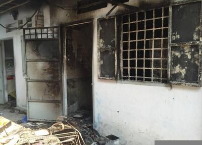 Đôi nam nữ chết cháy trong nhà vệ sinh của phòng trọ khóa trái cửa