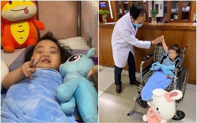 Những hình ảnh đáng yêu, khỏe khoắn của cháu bé 3 tuổi rơi chung cư trong ngày xuất viện