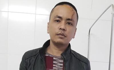 Bắc Ninh: Nam thanh niên chém bố đẻ và 2 công an xã rồi quát 'thuốc của tao đâu'