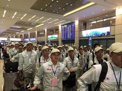 10 quận, huyện bị tạm dừng tuyển lao động đi làm việc tại Hàn Quốc