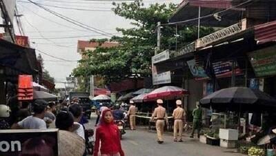 Hưng Yên: Đang bán hàng ở chợ, vợ bất ngờ bị chồng dùng dao đâm tử vong
