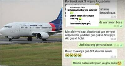 Đi chơi với bồ nhưng nói dối vợ, anh chồng không ngờ trở thành 'nạn nhân' bất đắc dĩ trong vụ máy bay rơi
