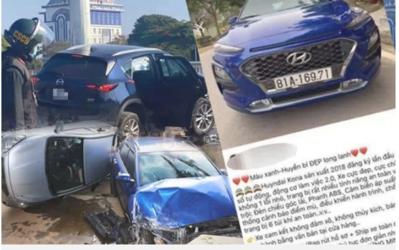 Ô tô giá 636 triệu từng gây tai nạn kinh hoàng được rao bán 'long lanh' trên mạng giá 605 triệu đồng