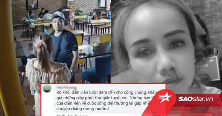 Dân mạng bênh vực diễn viên Hoàng Yến khi bị chồng cũ hành hung: 'Nhìn mặt cũng hiền lắm, thế mà...'