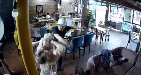 Diễn viên Hoàng Yến bị chồng thứ tư cầm dao đe doạ, đấm chảy máu tại quán ăn