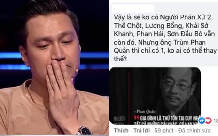 Netizen xúc động khi Việt Anh trả lời câu hỏi liên quan đến NSND Hoàng Dũng, 'không tin ông trùm phán xử' đã ra đi mãi