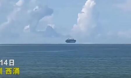 Tàu biển biết bay hay hiện tượng khúc xạ ánh sáng?