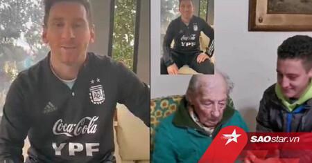 'Fan cứng' 100 tuổi ghi lại chi tiết tất cả bàn thắng của Messi