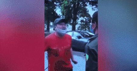 Người đàn ông tát công an viên tại chốt kiểm dịch ở Hà Nội