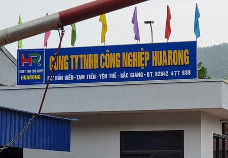 Bắc Giang: Công ty Huarong bị 'tố' vi phạm về đất đai?