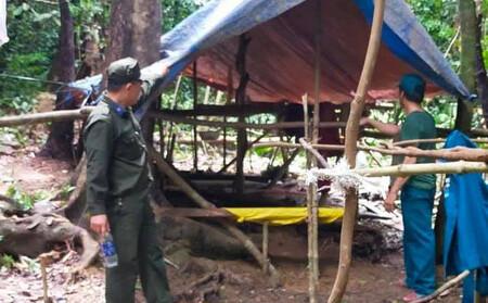 Truy bắt ráo riết nhiều giờ nhóm người khai thác vàng trái phép ở Đà Nẵng