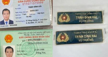 Chân dung gã đàn ông giả làm 'Vụ trưởng Thanh tra Chính phủ' đi lọt các chốt phòng dịch