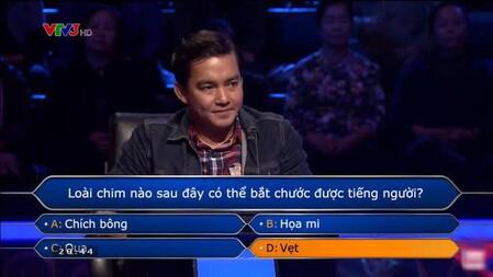 Xôn xao việc Đăng Khoa trả lời sai nhưng vẫn được tính đúng ở Ai Là Triệu Phú? Lỗi do ai?