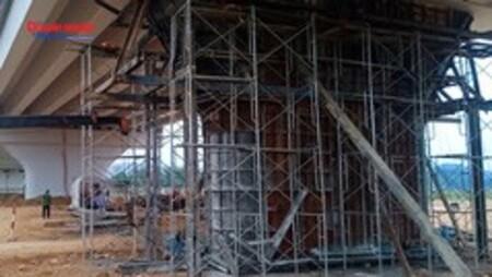 Tuyên Quang: Cây cầu gần nghìn tỷ vừa khánh thành, đưa vào sử dụng đã bị rạn nứt?
