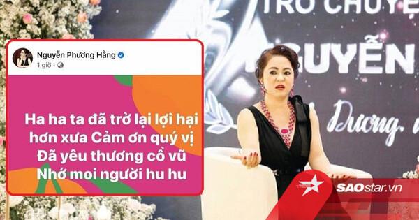 'Mất tích' hơn 1 tháng trên facebook chính chủ, bà Phương Hằng 'đã trở lại và lợi hại hơn xưa'