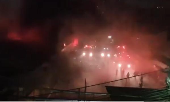 Video: Cháy lớn tại nhà kho Công ty dược phẩm Hà Tây